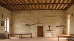 Abbaye bénédictine de Saint-Pierre de Bourgueil - English: Former refectory in the Abbey of Saint Pierre in Bourgueil