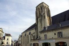 Eglise Saint-Germain - Français:   Église Saint-Germain de Bourgueil