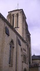 Eglise Saint-Germain - English: Church of Saint-Germain in Bourgueil