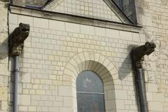 Eglise Saint-Germain - Français:   Gargouilles de l\'église Saint-Germain de Bourgueil.