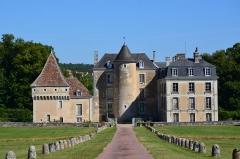 Château de Boussay - English:   The Château de Boussay (France).