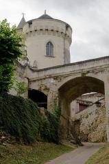 Ancien château des Archevêques de Tours - Français:   Château vieux de Candes (Inscrit)