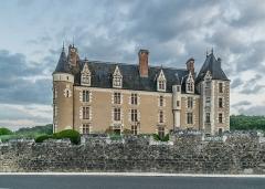 Château de Montpoupon - English: Castle of Montpoupon in commune of Céré-la-Ronde, Indre-et-Loire, France