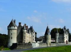 Château de Montpoupon - Nederlands: Kasteel Montpoupon te Céré-la-Ronde, Indre-et-Loire, Centre. Het kasteel werd heropgebouwd in de XVe eeuw.