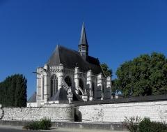 Château - Français:   Sainte-Chapelle de Champigny-sur-Veude (37).