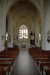 Eglise paroissiale de la Translation de Saint-Martin - Français:   Intérieur de l\'église de la Translation de Saint-Martin à La Chapelle-sur-Loire