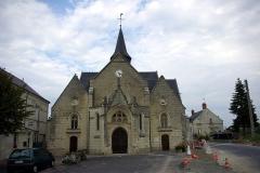 Eglise paroissiale de la Translation de Saint-Martin - Français:   Église de la Translation de Saint-Martin à La-Chapelle-sur-Loire.
