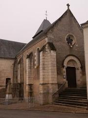 Eglise paroissiale Saint-Vincent - Français:   Église paroissiale Saint-Vincent de Chemillé-sur-Indrois