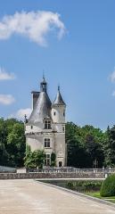 Domaine de Chenonceau - English: Tour des Marques – Castle of Chenonceau, Indre-et-Loire, France