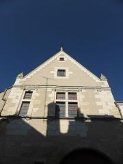 Maison du 16e siècle, dite des Pages - Français:   Maison des pages à Chenonceaux, en Indre-et-Loire.