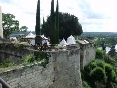 Château - Español: Castillo de Chinon