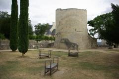 Château - Château de Chinon: Tour du Coudray