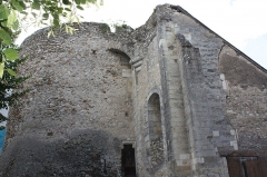 Ancienne abbaye bénédictine - Français:   Abbaye de Cormery