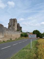 Château de Crissay - Français:   Crissay-sur-Manse (Indre-et-Loire, France)