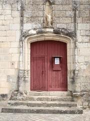 Eglise Saint-Maurice - Français:   Crissay-sur-Manse (Indre-et-Loire, France)