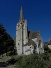 Eglise Saint-Maurice - Français:   Église Saint-Maurice de Crissay-sur-Manse (37). Chevet et flanc sud.