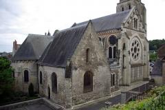 Eglise paroissiale Saint-Jean-Baptiste - Église Saint-Jean-Baptiste de Langeais.