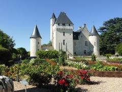 Château du Rivau -  Château du Rivau à Lémeré, Indre-et-Loire.