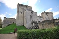 Château et son enceinte - Français:   Donjon de Loches