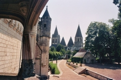 Château et son enceinte - Français:   Château de Loches (Classé Classé Classé Inscrit)