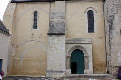 Eglise Saint-Vincent - Français:   Neuvy-le-Roi - Eglise Saint-Vincent Mur Sud de la nef