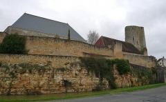 Château du Châtelier - Français:   Le front Est du château du Châtelier, commune de Paulmy, Indre-et-Loire, Centre, France.