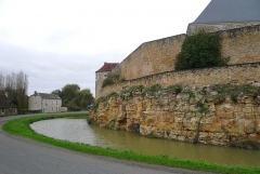 Château du Châtelier - Français:   Le front sud du château du Châtelier, commune de Paulmy, Indre-et-Loire, Centre, France.