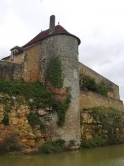 Château du Châtelier - Français:   Tour du front sud du château du Châtelier, commune de Paulmy, Indre-et-Loire, Centre, France.