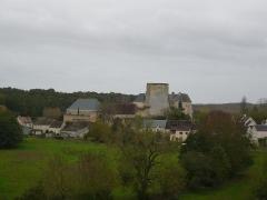 Château du Châtelier - Français:   Vue d\'ensemble du château du Châtelier, commune de Paulmy, Indre-et-Loire, Centre, France.