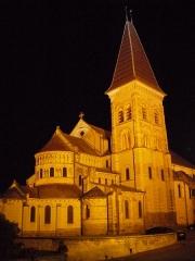 Eglise abbatiale bénédictine Saint-Pierre - Français:   Abbatiale Saint Pierre, Preuilly-sur-Claise , Indre et Loire, France