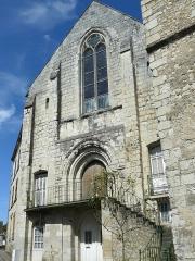 Ancienne église Notre-Dame-des-Echelles - Français:   Église Notre-Dame-des-Échelles de Preuilly-sur-Claise (façade)