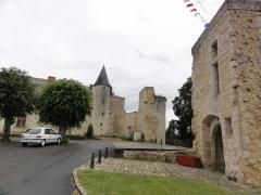 Ancien château - Français:   Château de Sainte-Maure-de-Touraine