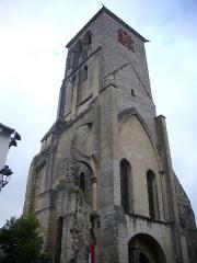 Ancienne abbaye de Saint-Martin - Tour Charlemagne de Tours (Indre-et-Loire, France), vue depuis le sud-ouest