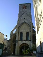 Ancienne abbaye de Saint-Martin - Français:   Ancienne abbaye de Saint-Martin, Tours, Indre-et-Loire. La Tour Charlemagne.