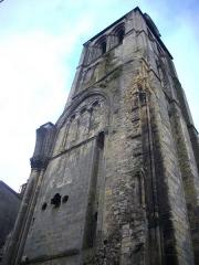 Ancienne abbaye de Saint-Martin - Tour de l'Horloge de Tours (Indre-et-Loire, France), vue du nord