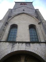 Ancienne abbaye de Saint-Martin - Tour Charlemagne de Tours (Indre-et-Loire, France), vue depuis le sud
