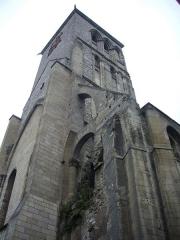 Ancienne abbaye de Saint-Martin - Tour Charlemagne, à Tours (Indre-et-Loire, France), vue du sud-est