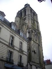 Ancienne abbaye de Saint-Martin - Tour de l'Horloge, à Tours (Indre-et-Loire, France), vue du nord-est