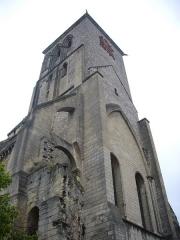 Ancienne abbaye de Saint-Martin - Tour Charlemagne, à Tours (Indre-et-Loire, France), vue du sud-ouest