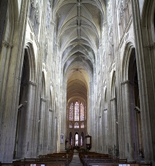 Cathédrale Saint-Gatien - This building is indexed in the Base Mérimée, a database of architectural heritage maintained by the French Ministry of Culture,under the reference PA00098135 .