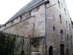 Ancienne chapelle du Petit-Saint-Martin, actuellement annexe de l'Ecole des Beaux-Arts de Tours - Français:   vieux tours, église du petit saint martin XIIe, XIIIe et XIVe siècle