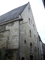 Ancienne chapelle du Petit-Saint-Martin, actuellement annexe de l'Ecole des Beaux-Arts de Tours - Français:   Chapelle du Petit-Saint-Martin, à Tours (Indre-et-Loire, France)