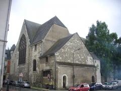 Eglise Saint-Saturnin (ancienne église des Carmes) - Français:   Église Saint-Saturnin de Tours (Indre-et-Loire, France), vue depuis le nord-est