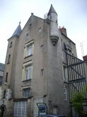 Hôtel dit de Jean Briçonnet - Français:   Hôtel de Jean Briçonnet à Tours (Indre-et-Loire, France)