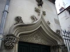 Hôtel - Français:   Hôtel particulier, 22 rue Bretonneau, à Tours (Indre-et-Loire, France)