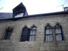 Ancienne maison canoniale de Saint-Martin - Français:   Maison canoniale de Saint-Martin, 4 rue Rapin, à Tours (Indre-et-Loire, France)