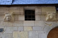Maison présumée de Jehan Bourdichon - Français:   Detail de la façade d\'une maison situee au 3 rue de la Serpe a Tours (Indre et Loire, France).
