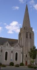 Eglise paroissiale Saint-Maixent - Français:   Église Saint-Maixent de Veigné