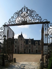 Château de Jallanges - Deutsch: Schloss Jallanges in Vernou-sur-Brenne