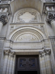 Basilique Saint-Martin - Basilique Saint-Martin de Tours (Indre-et-Loire, France), façade méridionale